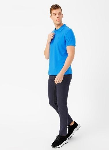 Fabrika Fabrika Saks Erkek Polo T-Shirt Saks